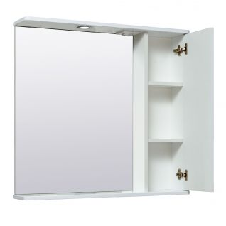 Зеркало-шкаф Runo Карат 80 правый
