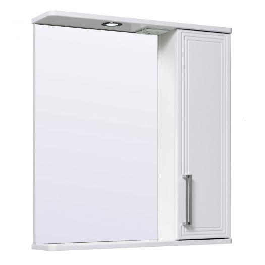Шкаф зеркальный Runo Олимпия 70