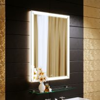 Зеркало Alavann Retro 60 с подсветкой