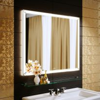 Зеркало Alavann Retro 80 с подсветкой