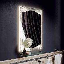 Зеркало Alavann Monaco 60 с подсветкой