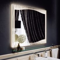 Зеркало Alavann Monaco 100 с подсветкой