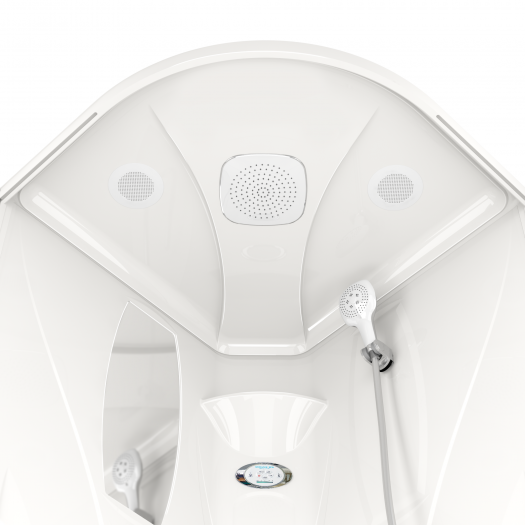 Душевая кабина Domani-Spa Elegance High матовая 90x90
