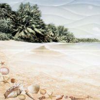 Панно Alma Ceramica Ривьера Пляж из 2-х плиток 49,8х50