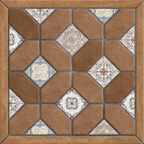 Плитка напольная Alma Ceramica Фиеста Коричневая 41,8х41,8