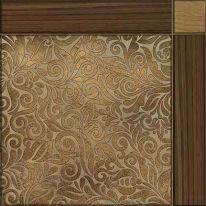 Плитка напольная Alma Ceramica Рико Коричневая 41,8х41,8