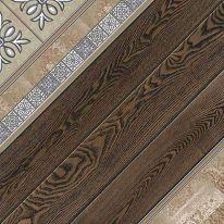 Плитка напольная Alma Ceramica Тира Коричневая 41,8х41,8