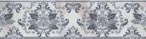 Бордюр Alma Ceramica Богема Узор 24,9х6,7