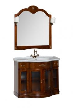 Зеркало Aquanet Дафне 97 орех арт.178564