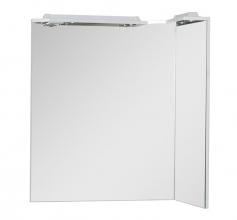 Зеркало Aquanet Корнер 85 белое R 158821