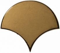 Плитка настенная Equipe Scale Fan Metallic